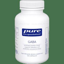 Pure Encapsulations GABA 120 vcaps GABA1