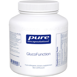 Pure Encapsulations GlucoFunction 180 vcaps GL182