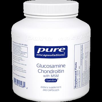 Pure Encapsulations Glucosamine Chondroitin w MSM 240 vcaps GCS11