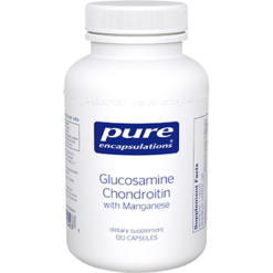 Pure Encapsulations Glucosamine Chondroitin w Manga 120vcaps GCS4