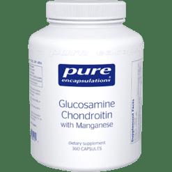 Pure Encapsulations Glucosamine Chondroitin w Manga 360vcaps GCS6