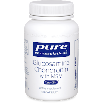 Pure Encapsulations Glucosamine Chondroitin with MSM 60vcaps GCS9