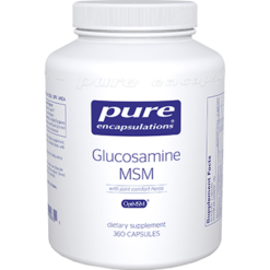Pure Encapsulations Glucosamine MSM w Joint Comfort 360vcaps GLU66