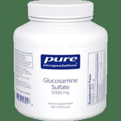 Pure Encapsulations Glucosamine Sulfate 1000 mg 180 vcaps GLU74