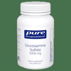 Pure Encapsulations Glucosamine Sulfate 1000 mg 60 vcaps GLU75