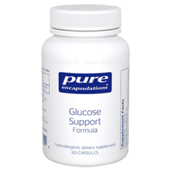 Pure Encapsulations Glucose Support Formula 60 vcaps GLU55