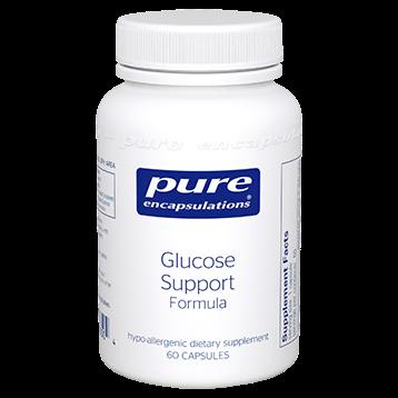 Pure Encapsulations Glucose Support Formula 60 vcaps GLU55