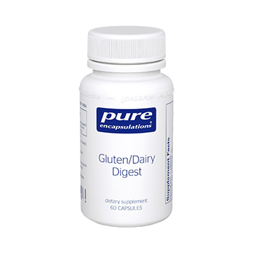 Pure Encapsulations Gluten Dairy Digest 60 vcaps GDD6