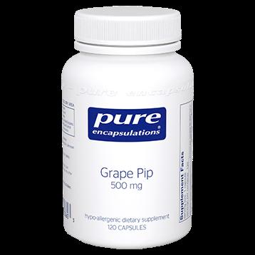 Pure Encapsulations Grape Pip 500 mg 120 caps GRAP8