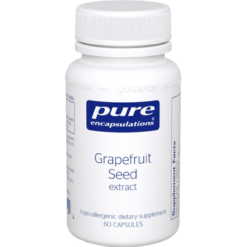 Pure Encapsulations Grapefruit Seed Extract 250 mg 60 vcaps GRA28