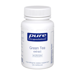Pure Encapsulations Green Tea extract decaf 120 vegcaps GRE11