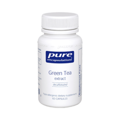 Pure Encapsulations Green Tea extract decaf 60 vegcaps GRE10