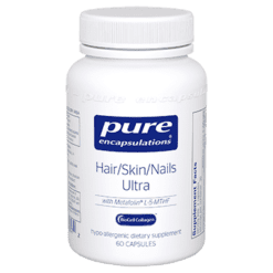 Pure Encapsulations Hair Skin Nails Ultra 60 vcaps P13572