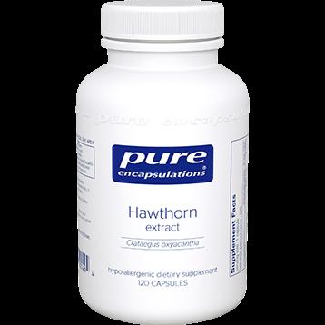 Pure Encapsulations Hawthorne extract 120 vegcaps HAW29