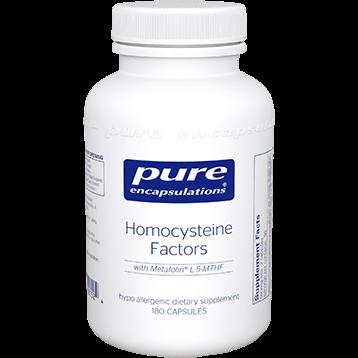 Pure Encapsulations Homocysteine Factors 180 vegcaps HOMO5