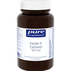 Pure Encapsulations Indole 3 Carbinol 400 mg 60 vcaps INDO5