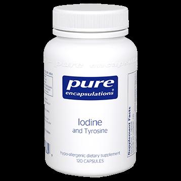 Pure Encapsulations Iodine and Tyrosine 120 vcap IODI7