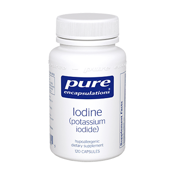 Pure Encapsulations Iodine potassium iodide 120 caps IODI5
