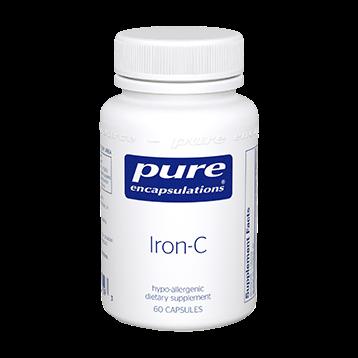 Pure Encapsulations Iron C 60 vcaps IRO13