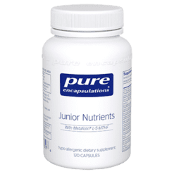 Pure Encapsulations Junior Nutrients 120 caps P13176