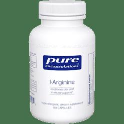 Pure Encapsulations L Arginine 700 mg 90 vcaps ARG19