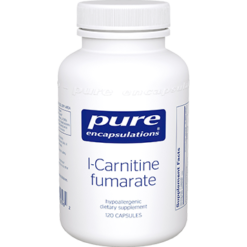 Pure Encapsulations L Carnitine Fumarate 340 mg 120 vcaps CAR35