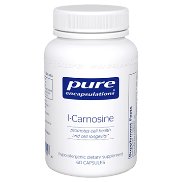 Pure Encapsulations L Carnosine 500 mg 60 vcaps CAR57