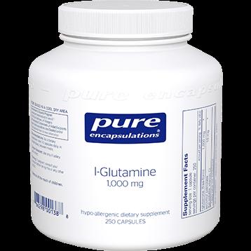 Pure Encapsulations L Glutamine 1000 mg 250 vcaps GLU58