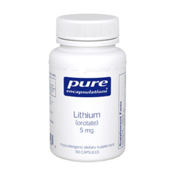 Pure Encapsulations Lithium orotate 5 mg 90 vcaps LI9