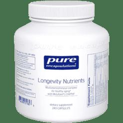 Pure Encapsulations Longevity Nutrients 240 vcaps LGN2