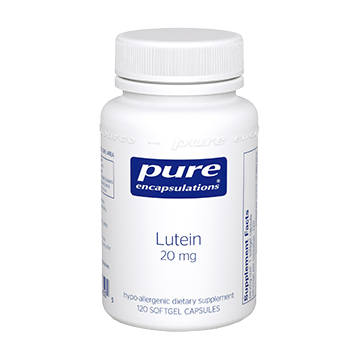 Pure Encapsulations Lutein 20 mg 120 gels LUTE4