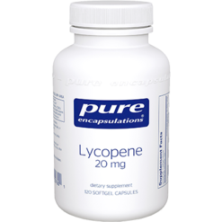Pure Encapsulations Lycopene 20 mg 120 gels LYC22