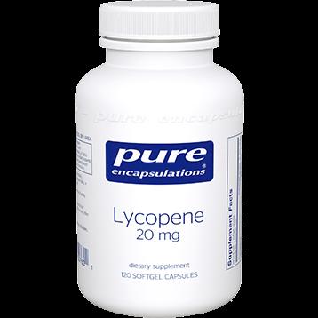Pure Encapsulations Lycopene 20 mg 120 gels LYC22