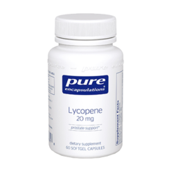 Pure Encapsulations Lycopene 20 mg 60 gels LYC21