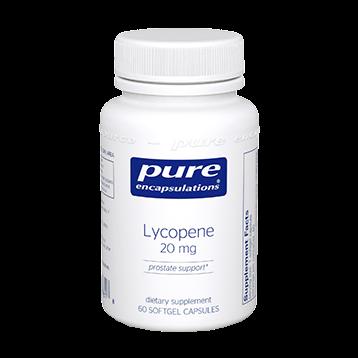 Pure Encapsulations Lycopene 20 mg 60 gels LYC21