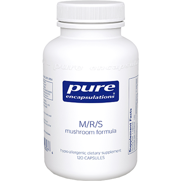 Pure Encapsulations M R S Mushroom Formula 120 vegcaps MRS1