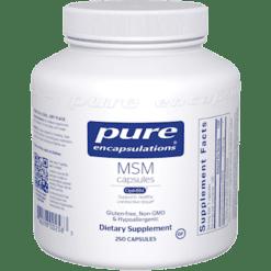 Pure Encapsulations MSM 250 vcaps MSM9