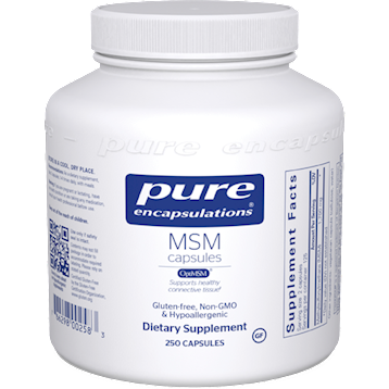 Pure Encapsulations MSM 250 vcaps MSM9