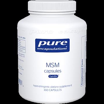 Pure Encapsulations MSM Capsules 360 caps P15316