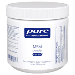 Pure Encapsulations MSM Powder 227 gms MSM10