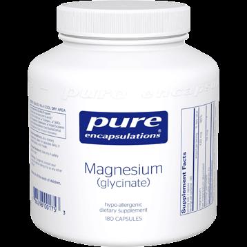Pure Encapsulations Magnesium glycinate 120 mg 180 vcaps MAG48