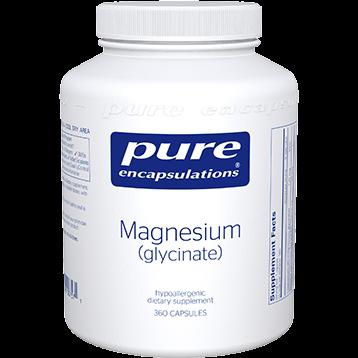 Pure Encapsulations Magnesium glycinate 120 mg 360 vcaps MAG79