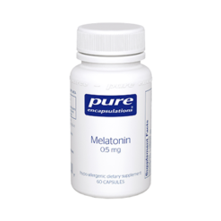 Pure Encapsulations Melatonin 0.5 mg 60 vcaps MEL25