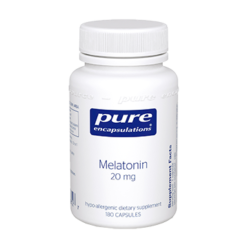 Pure Encapsulations Melatonin 20 mg 180 vcaps MEL42