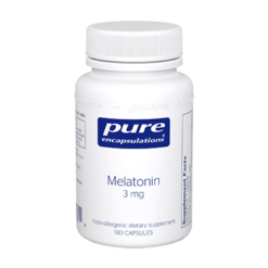 Pure Encapsulations Melatonin 3 mg 180 vcaps MEL27