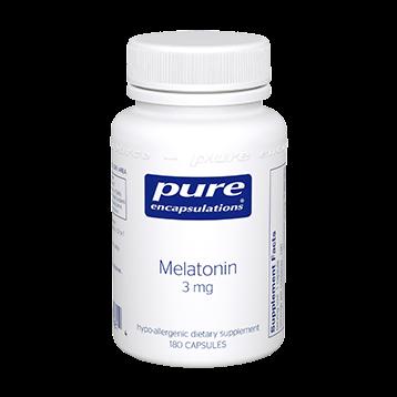 Pure Encapsulations Melatonin 3 mg 180 vcaps MEL27