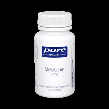 Pure Encapsulations Melatonin 3 mg 60 vcaps MEL24