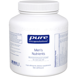 Pure Encapsulations Mens Nutrients 180 vcaps MEN1