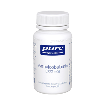 Pure Encapsulations Methylcobalamin 1000 mcg 60 vcaps METH8