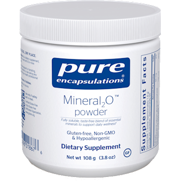 Pure Encapsulations Mineral 2O powder 108 gms P18676